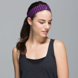 NEW Lululemon Fly Away Tamer Headband
